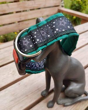 Sternenhalsband grün