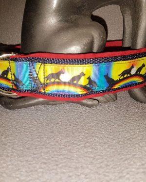 """Hundehalsband """"Rainbow Dogs"""""""