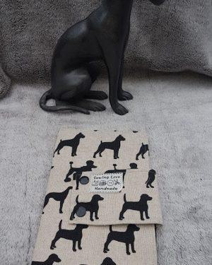 Impfpasshülle Leinen Mixhunde (7)