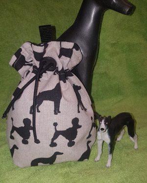 Leckerliebeutel Leinen Hundemix (1)