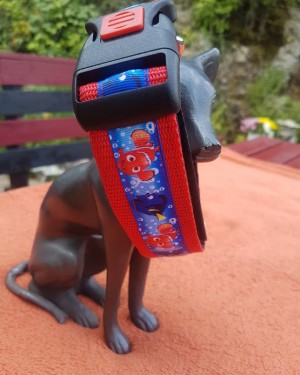Hundehalsband Nemo Rot