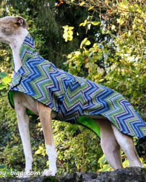 Softshellmantel Hunde Strickretro