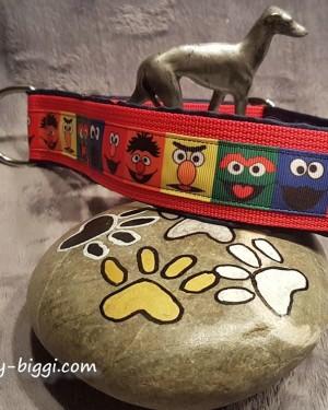 Zugstophalsband Sesamstrasse Rot