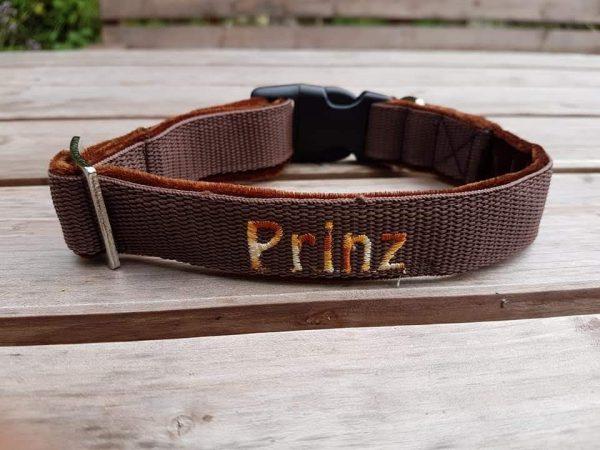 Hundehalsband Prinz